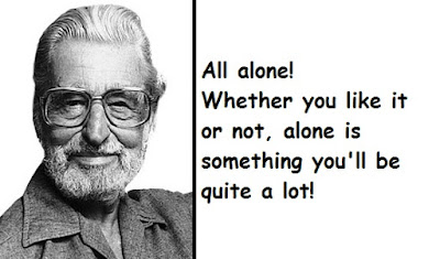"""Dr. Seuss Quotes About Alone!"""