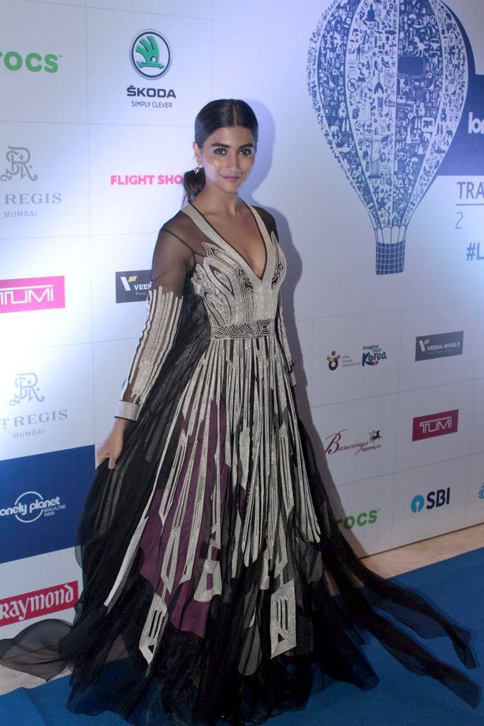 Pooja Hegde At 6th Lonely Planet Magazine Awards 2017 Stills