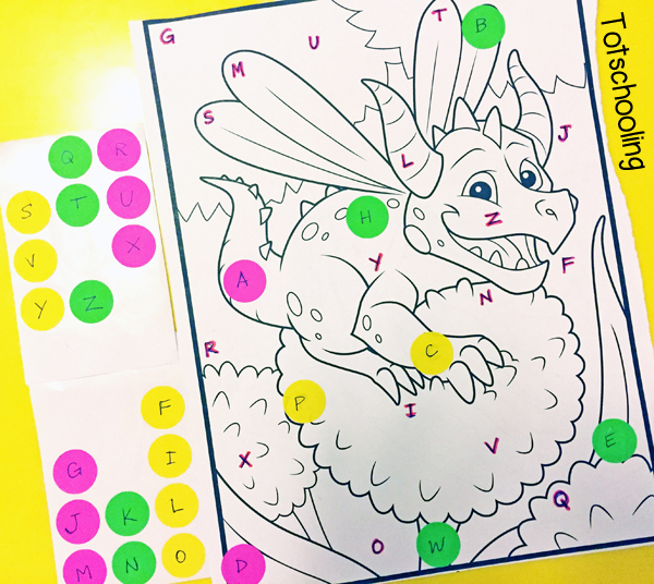 12 Creative Ways To Learn With Coloring Pages Totschooling