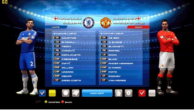 PES 2013 Transfers 2015 pack
