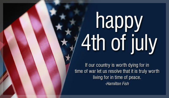 4th July Card Sayings And Greeting Message | Independence Day USA 2016
