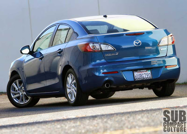 The 2012 Mazda 3 i Grand Touring SKYACTIV - Subcompact Culture