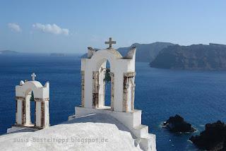 Kirchen auf Santorin Foto von Stampin' up! Demonstratorin Susanne McDonald Susis Basteltipps