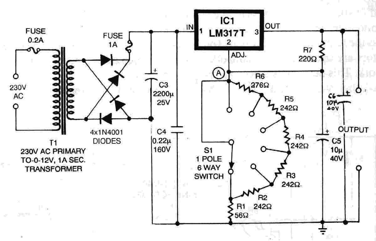 knowledge is freedom electronics projects voltage regulator circuit