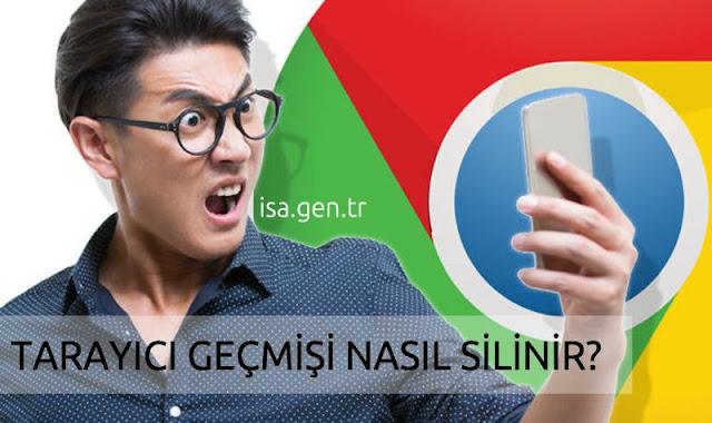 Google Chrome Geçmişi Sil