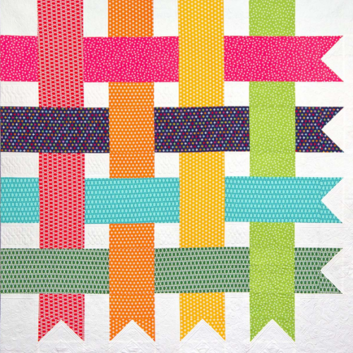 Simple Streamers Quilt - FREE Pattern