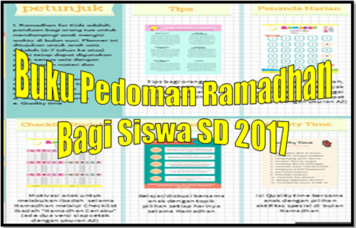 Buku Pedoman Ramadhan Bagi Siswa SD 2017
