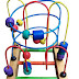 Mainan Edukasi Anak Dari Kayu Wire Game 3 Line