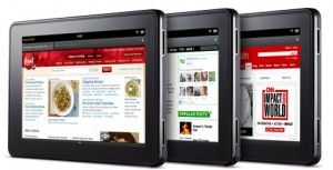 Kindle Fire browser test - Amazon Silk