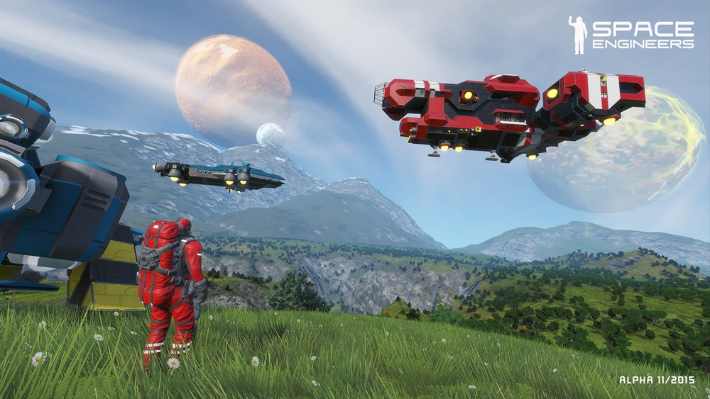 Space Engineers Free Download Poster