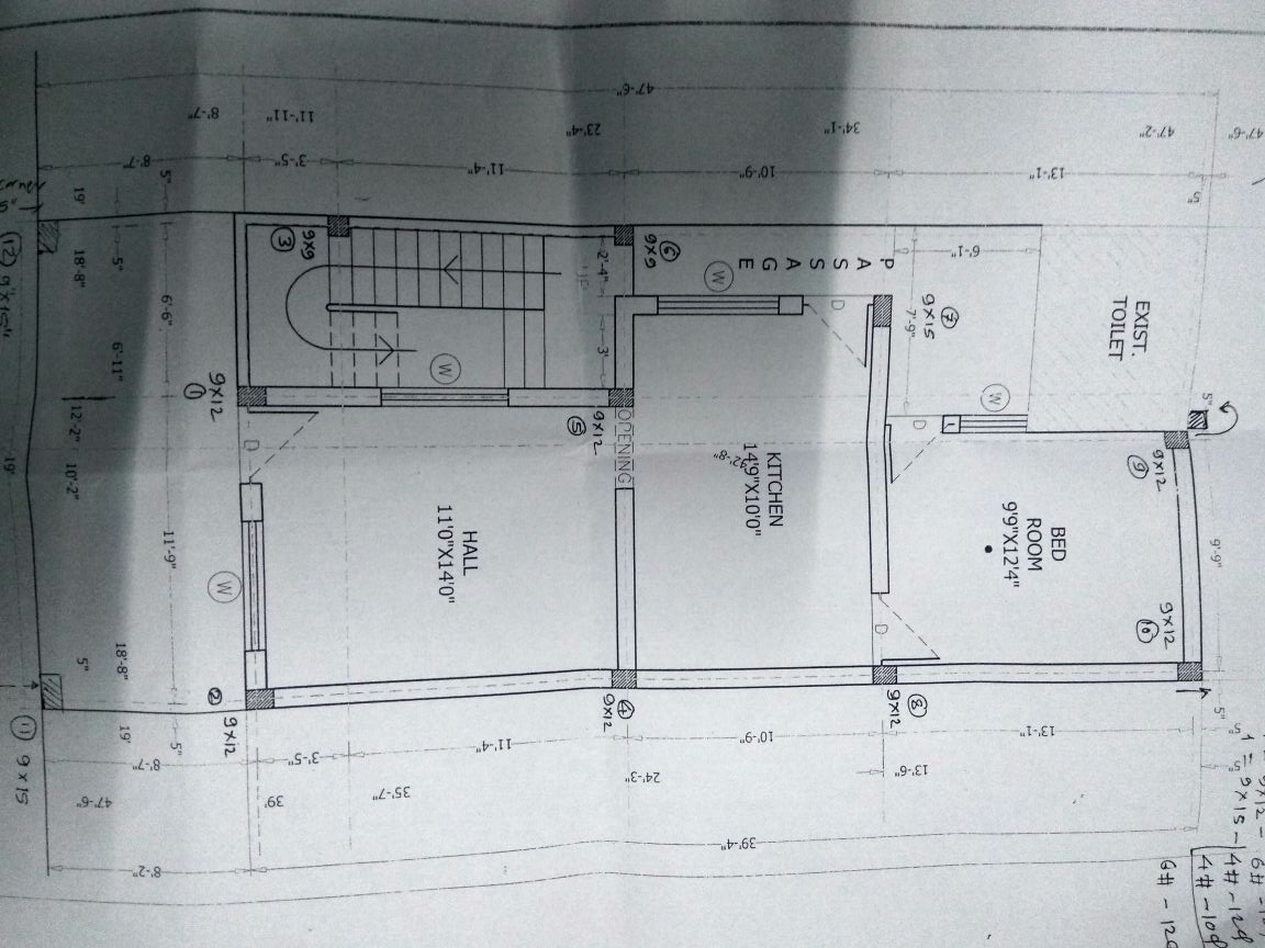 19 feet front house plan