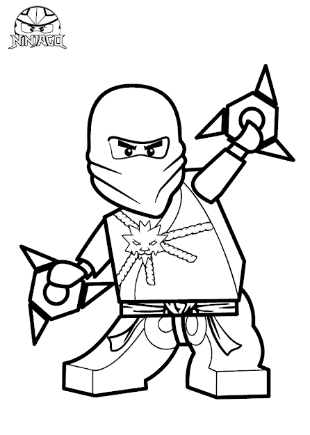Lego Ninjago Coloring Pages  Bratz Coloring Pages