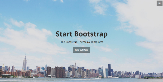 Stylish Portfolio - A stylish, one page, Bootstrap portfolio theme