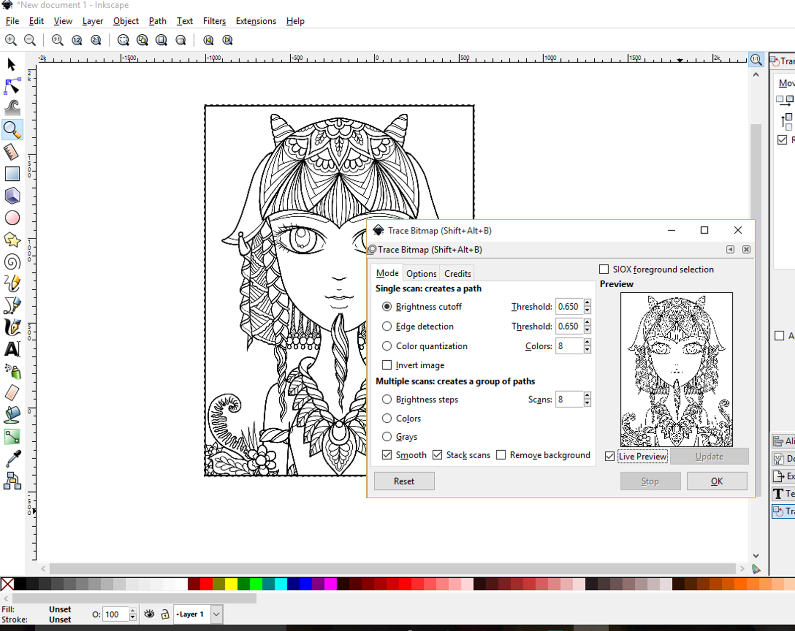 How To Make Coloring Pages In PhotoshopToPrintable Coloring