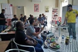 Polres Biak Sosialisasi Penyalahgunaan Narkoba Kepada Karyawan PT. Surya Madistrindo