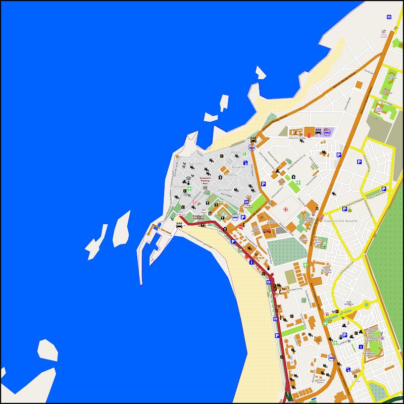 Plan d'Essaouira