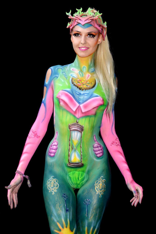 84 Body Art World Bodypainting Festival 2013 Gaestutorial