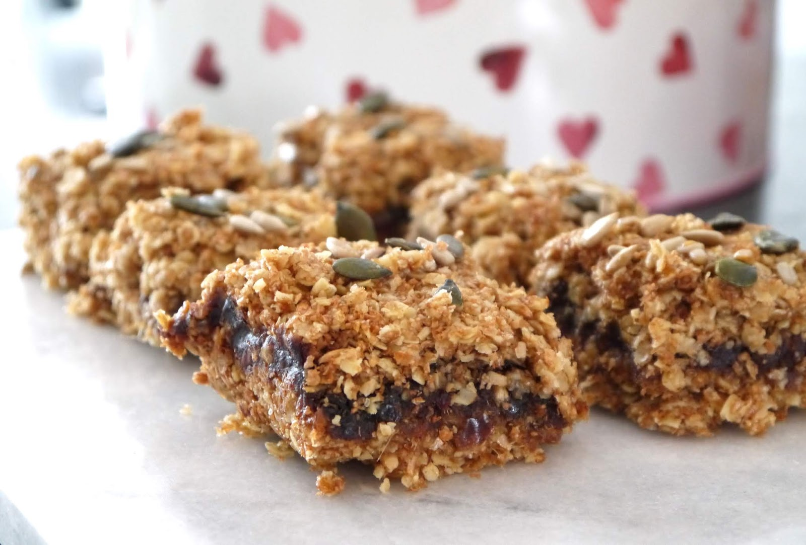 The Betty Stamp Sticky Date Flapjack Recipe