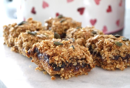 Sticky Date Flapjack | The Betty Stamp