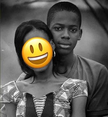 Throwback photo of Adekunle Gold