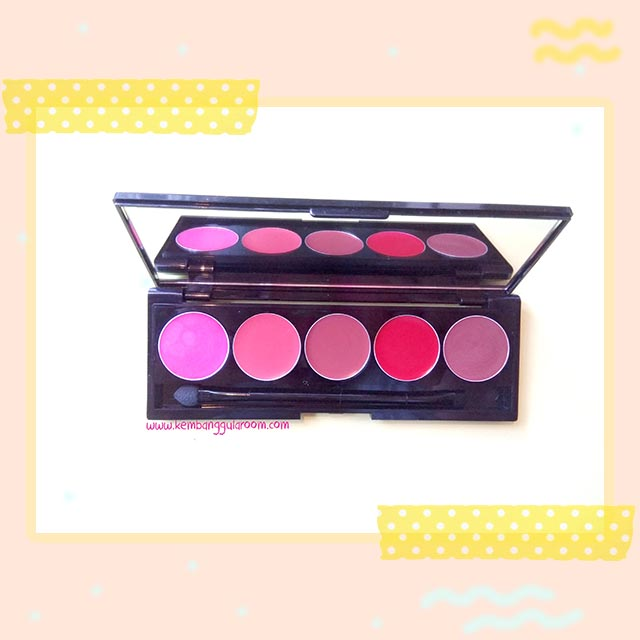 Martinez Lumiere Glamorous Shine Lipstick Palette Review