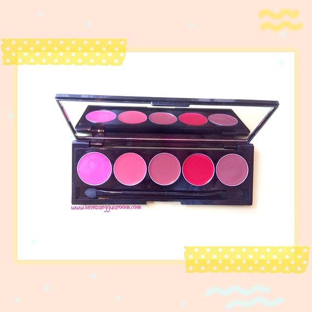 Martinez Lumiere Glamorous Shine Lipstick Palette Review