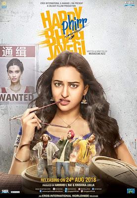 Happy Phirr Bhag Jayegi 2018 Full Movie Download