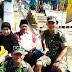 Hadiri Acara Larung Sesaji di Desa Binaan, Ini Yang Dilakukan Babinsa Bluto
