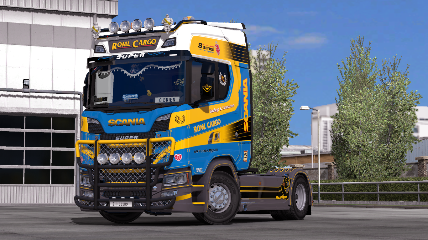 Next Gen Scania Accessory Pack V9 8 Euro Truck Simulator