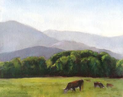 Dungeness Cows © Nancy Van Blaricom