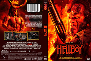 Hellboy - Cover - DVD