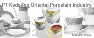Loker Operator Produksi Tangerang 2017 PT KOPIN (Kedaung Oriental Porcelain Industry) Terbaru