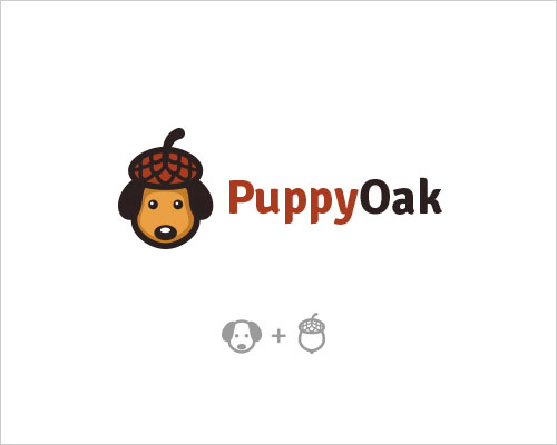 Logo Example - Puppy Oak