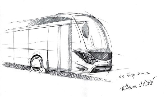 Passion autocar en libert conception design avec claire - Autocar dessin ...