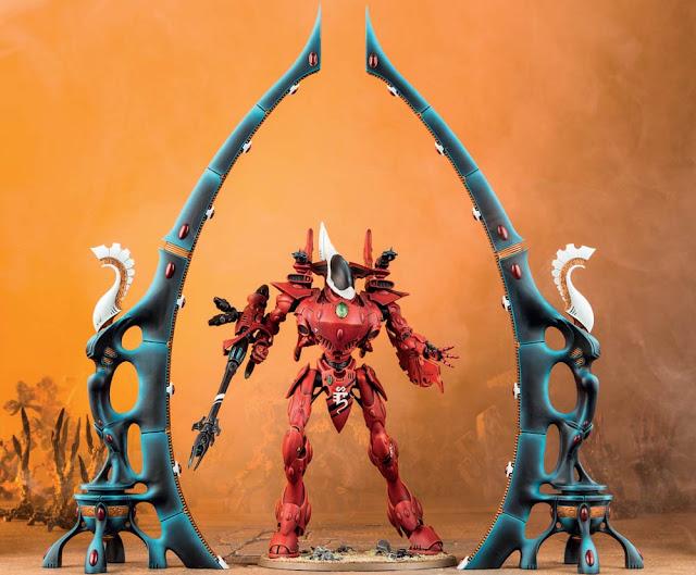 portal de la telaraña Eldar