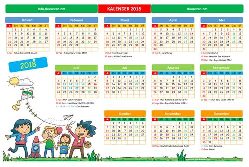 download, kalender 2018, kalender 2018 pdf, kalender 2018 excel, gratis download kalender 2018