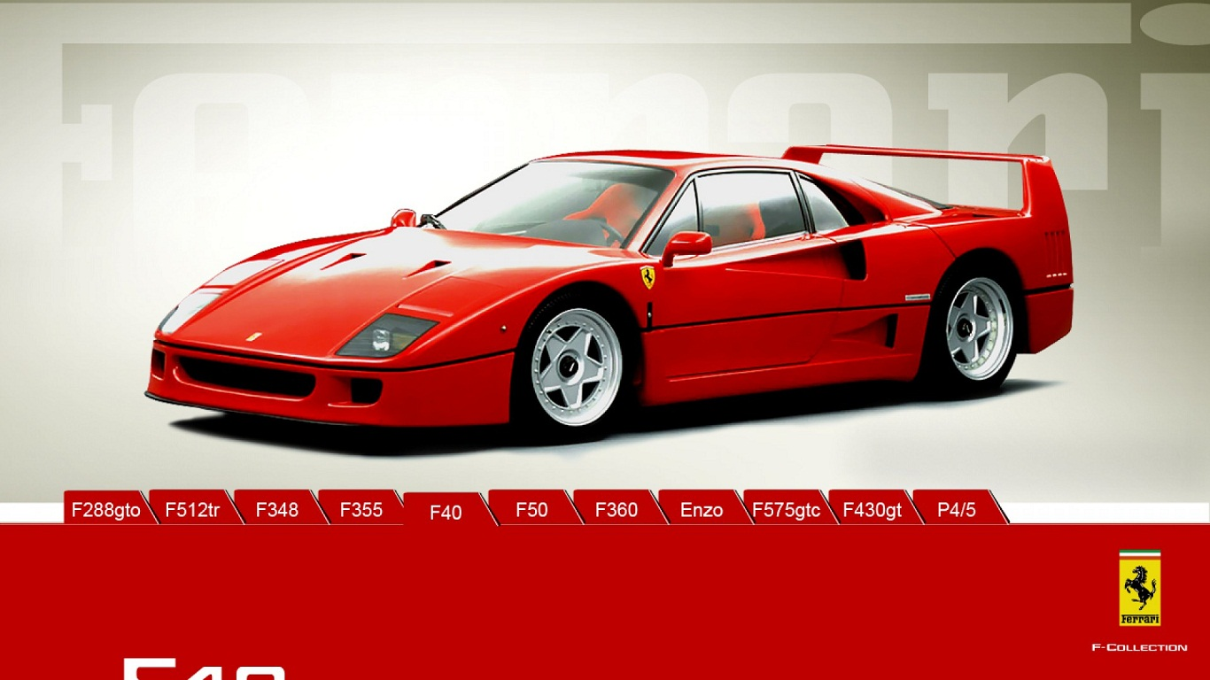 Ferrari F40 HD Wall Wallpapers HD Wall Wallpapers