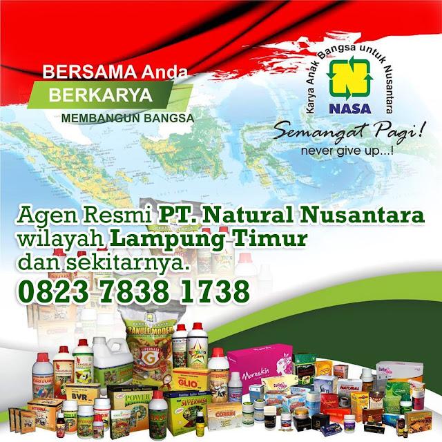 Alamat Agen/Distributor NASA Lampung Timur dan Sekitarnya