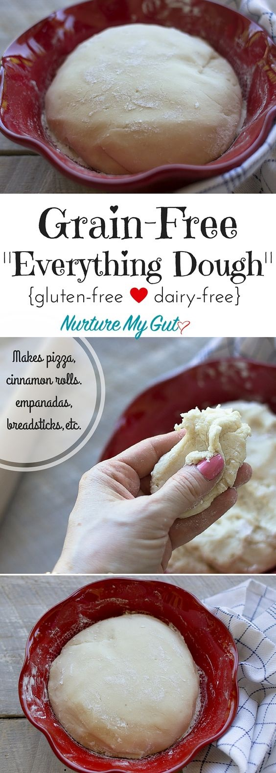 Grain Free Everything Dough