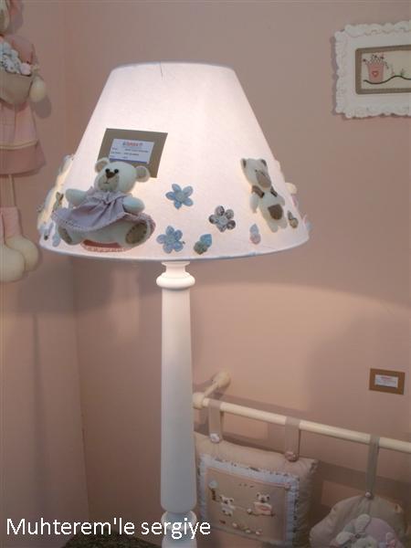 bebek odası abajur