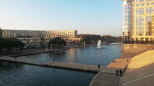 fiume lez montpellier francia