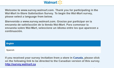 Walmart Survey Sweepstakes Win $1,000