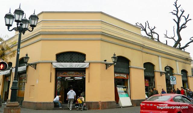 Restaurante em Santiago do Chile
