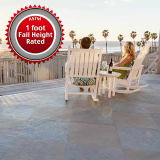 Greatmats life floor outdoor deck tile slate