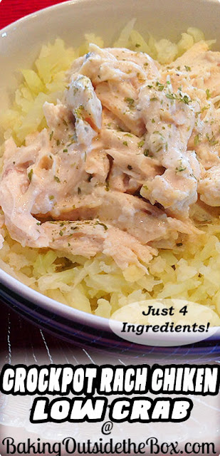 Easy Crockpot Rach Chiken Recipe