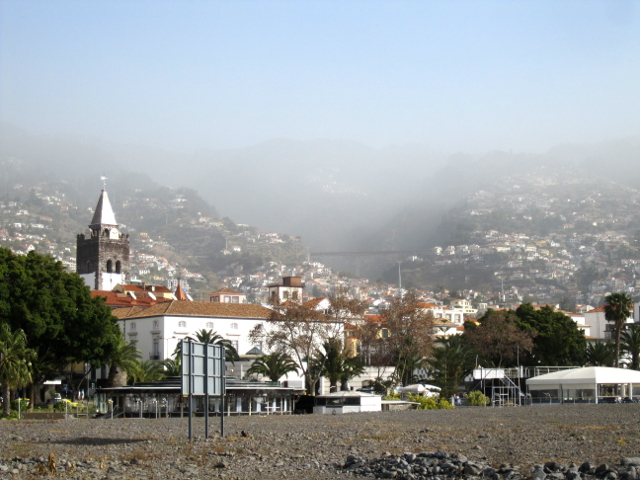 Funchal center Madeira