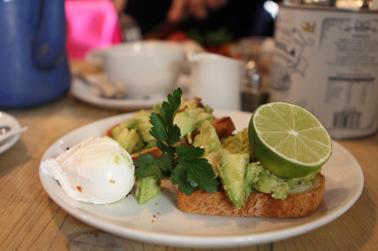 Bills Avocado on toast gluten free