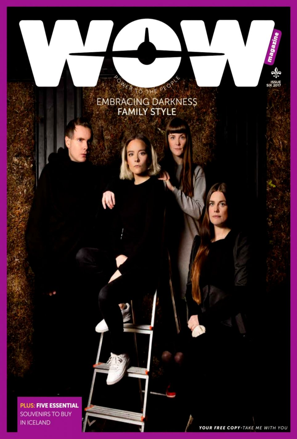 best sneakers 44126 108e3 WOW magazine issue 6 2017 by WOW air issuu