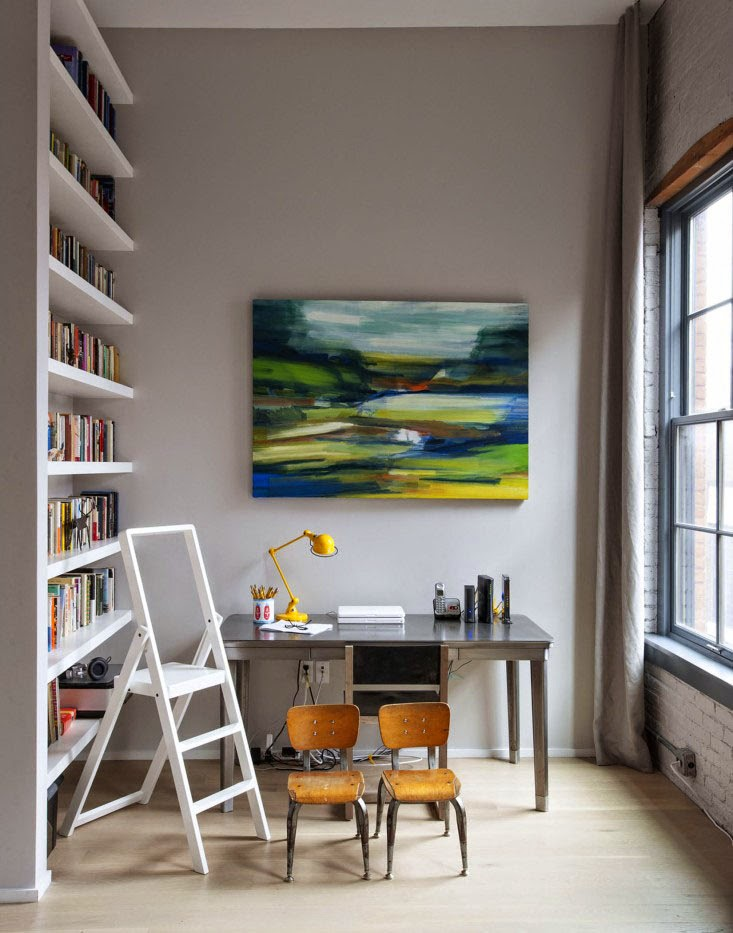 Fotos de oficinas en casa para inspirarte a montar la tuya for Imagenes de oficinas en casa