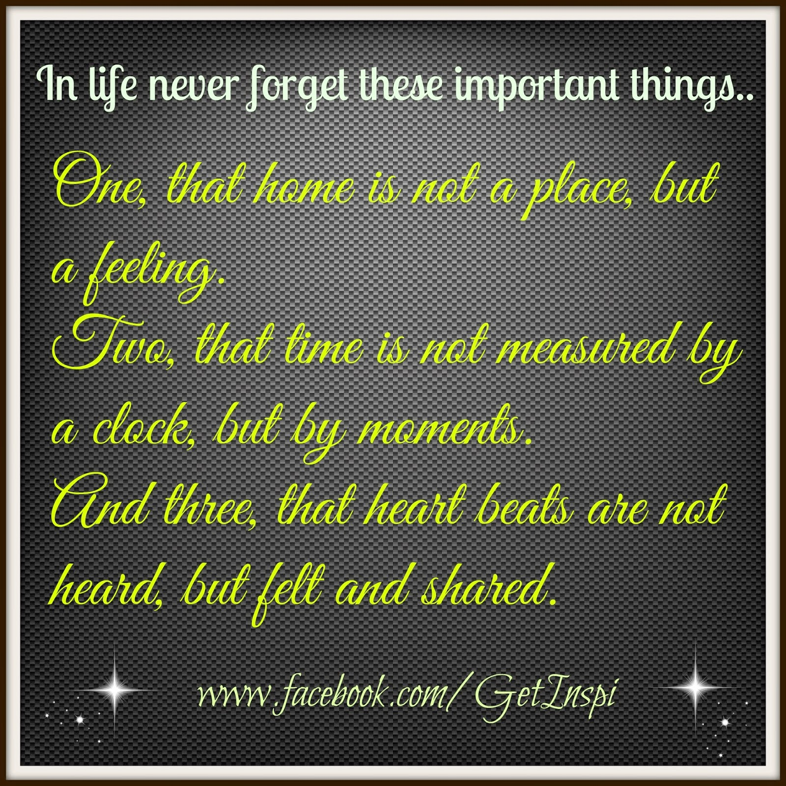 Inspirational and Random Quotes: Things you should never ...
